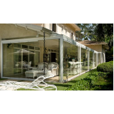 Fechamento vidro varanda menor preço em Cotia
