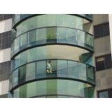 Fechamento vidro varanda preço acessível em Santana de Parnaíba