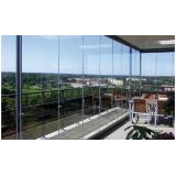 Fechamento vidro varanda quanto custa em Caieiras