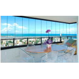 Fechamento vidro varanda quanto custa em Carapicuíba