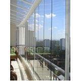Fechar minha varanda com vidro em Barueri