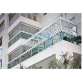Fechar varandas com vidro melhor preço em Francisco Morato