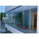 Fechar varandas com vidro preço acessível no Pari