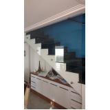 Guarda Corpo de Vidro Para Escada Diadema