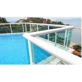 Guarda corpo de vidro temperado melhor preço em São Caetano do Sul