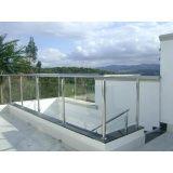 Guarda corpo de vidro temperado preço acessível no Rio Grande da Serra