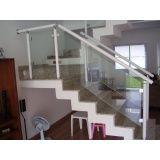 Guarda corpo de vidro temperado valor acessível em Caieiras