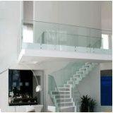 Guarda corpo de vidro temperado valor em Higienópolis