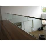 Guarda corpo em vidro temperado quanto custa em São Caetano do Sul