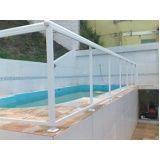 Guarda corpo vidro temperado menor preço em Salesópolis