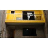 instalação de corrimão de escada em aço inox Jandira