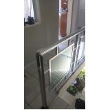 instalação de corrimão de escada Pari