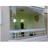 Melhor preço em varanda de vidro em Poá