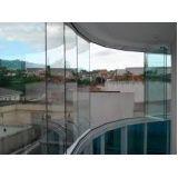 Melhor preço sacada de vidro na Santa Efigênia