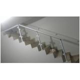 orçamento de corrimão de escada de vidro Vila Buarque
