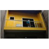 orçamento de corrimão de escada em aço inox Suzano