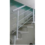 orçamento de corrimão de escada externa República