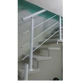 orçamento de corrimão de escada externa Santa Efigênia