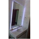 orçamento de espelhos para sala de jantar Luz