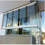Orçamento de sacada de vidro na Santa Efigênia