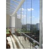 Preço acessível para fechar varandas com vidro em Biritiba Mirim