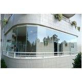Preço acessível para fechar varandas com vidro em Caieiras