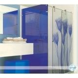 Preço box para banheiro vidro temperado em Poá
