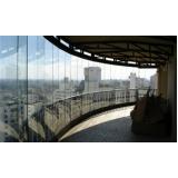 Preço para fechar varandas com vidro no Pari