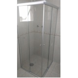 quanto custa Box de banheiro vidro fumê Cambuci