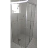 quanto custa Box de banheiro vidro fumê São Bernardo do Campo