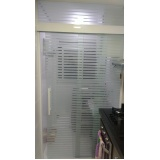 quanto custa Box de vidro articulado para banheiro Brás