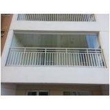 Valor acessível em envidraçamento de varanda em Santa Isabel